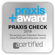 Praxis Award Praxis Check 2019