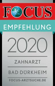 FCGA Regiosiegel 2020 Zahnarzt Landkreis Bad Duerkheim